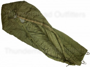 Extreme Cold Weather Sleeping Bag With Hood