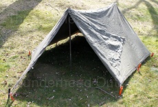 Complete Pup Tent set up out of two Shelter Half Tents. & Pup Tent - Thunderhead Outdoor Research